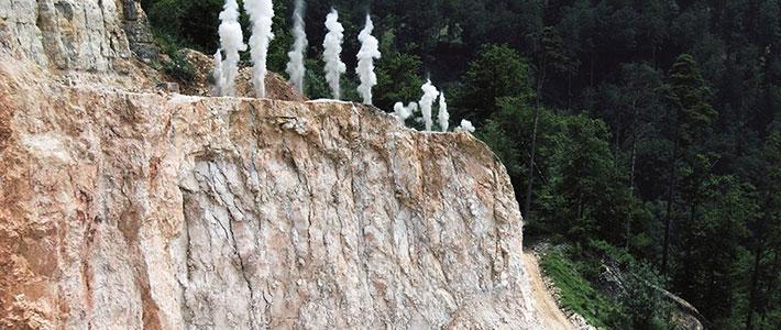 Steinbruchbewirtschaftung