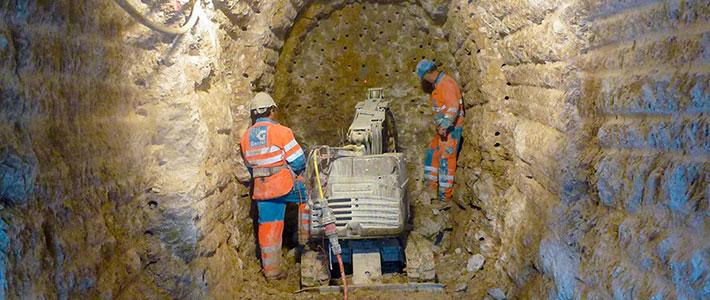 Stollenbau / Tunnelbau