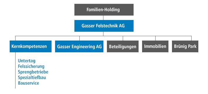 Organisation Gasser Felstechnik AG