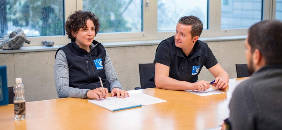 Karriere als Bauführer/in: «Mit motivierten Leuten Grosses erreichen»