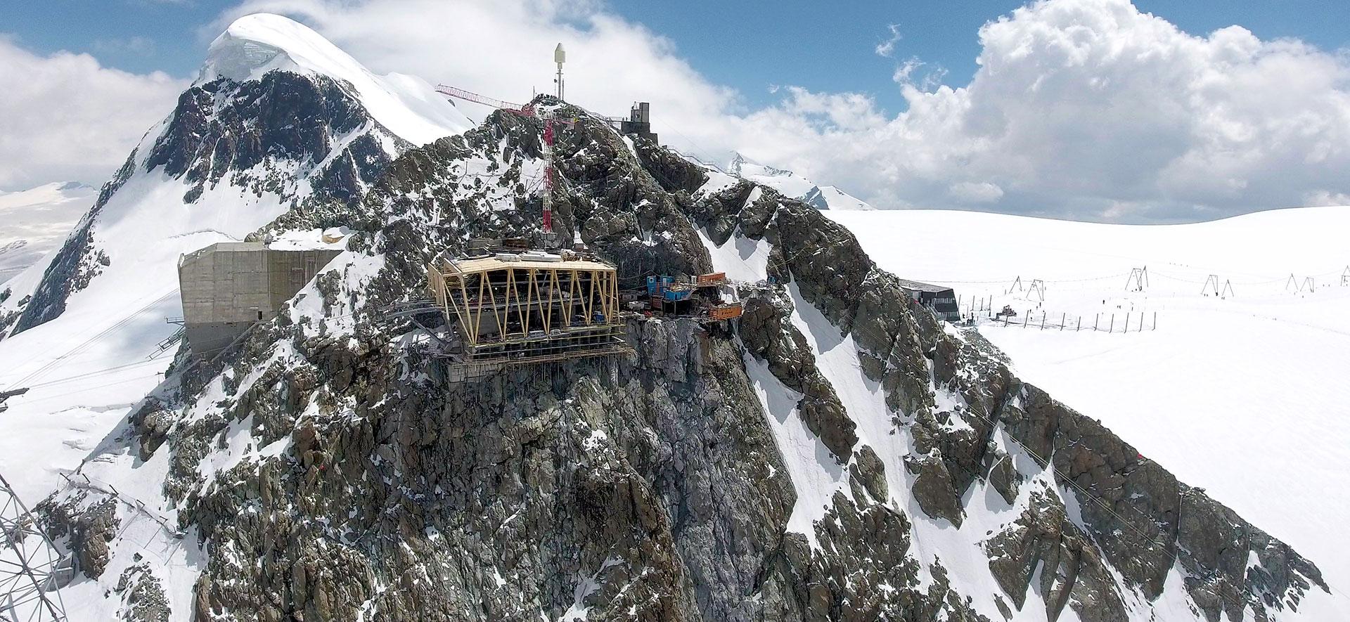 Infrastruktur im alpinen Raum