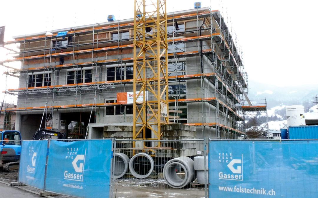 Gewerbegebäude: Hoch- und Spezialtiefbau