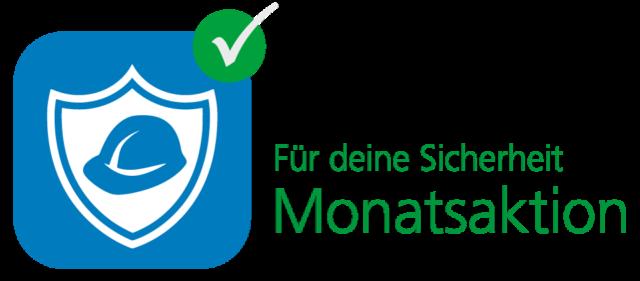 Monatsaktion – Für deine Sicherheit