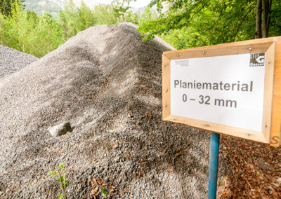 Planiermaterial 0-32 mm