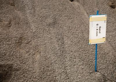 Sand 0-4 mm