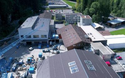 Betriebscenter der Gasser Felstechnik AG, Lungern (OW)