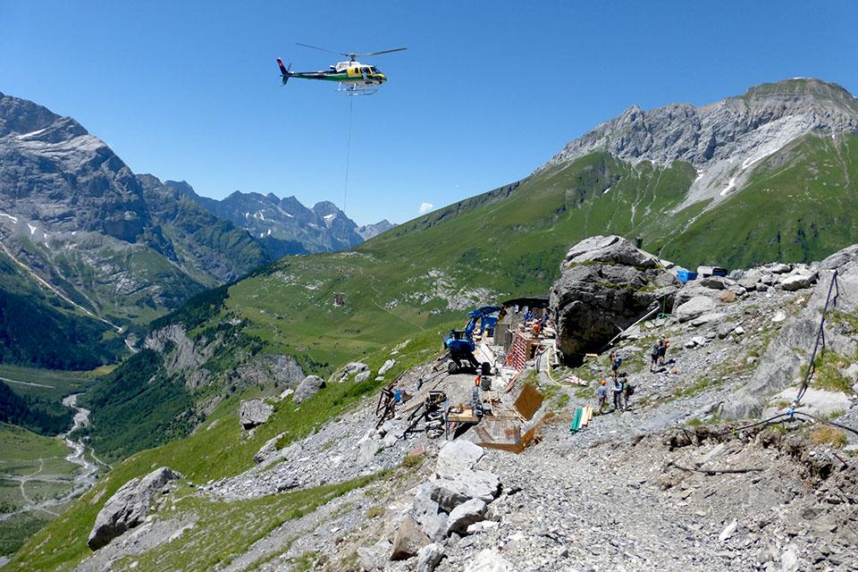 Hochbau: Infrastruktur im alpinen Raum