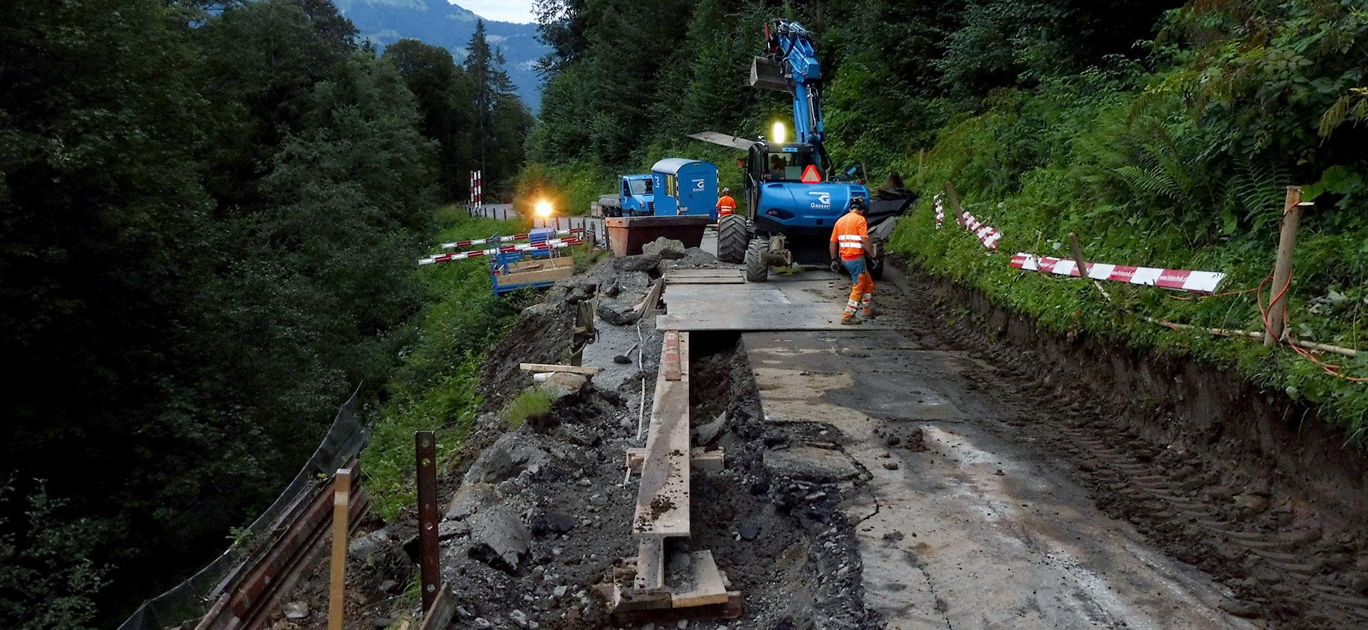 Strassensanierung: Bauplatz zu knapp