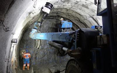 Das Kraftwerk Erstfeldertal entsteht