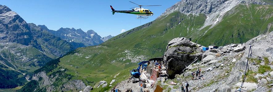 Gasser Bauservice: Infrastruktur im alpinen Raum