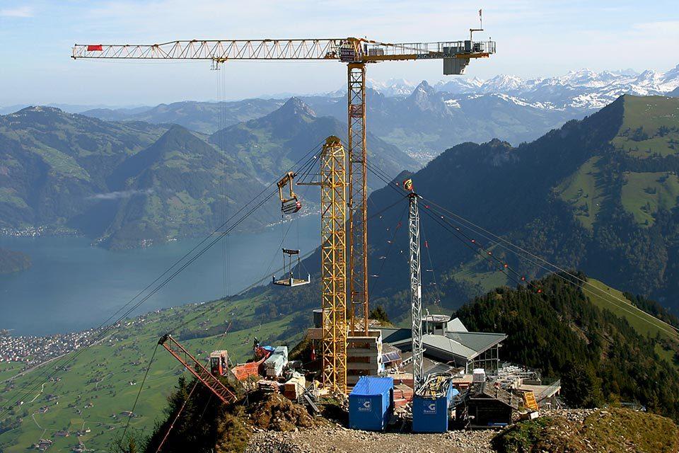 Bauservice: Infrastruktur im alpinen Raum