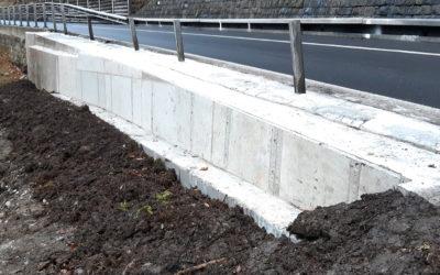 Brünigstrasse, Lungern (OW): Stützriegel permanent saniert