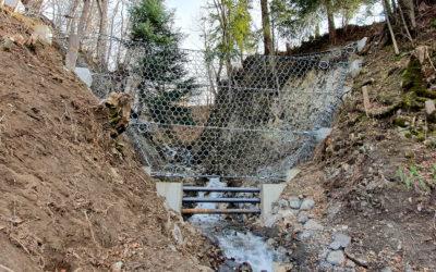 Milibächli, Hasliberg Goldern (BE): Hochwasserschutz