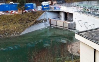 Stauwehr Schlattli, Schwyz (SZ): Abdichtungsinjektionen