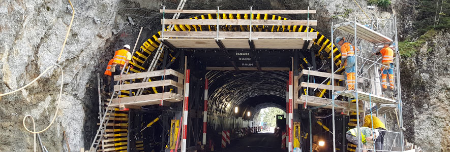 Untertag: Tunnelsanierung
