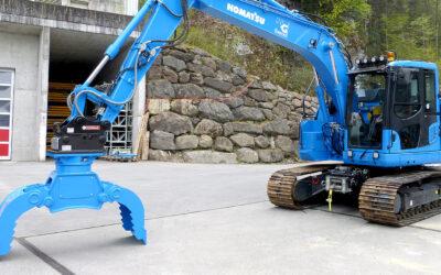Komatsu-Bagger für den Erdbau
