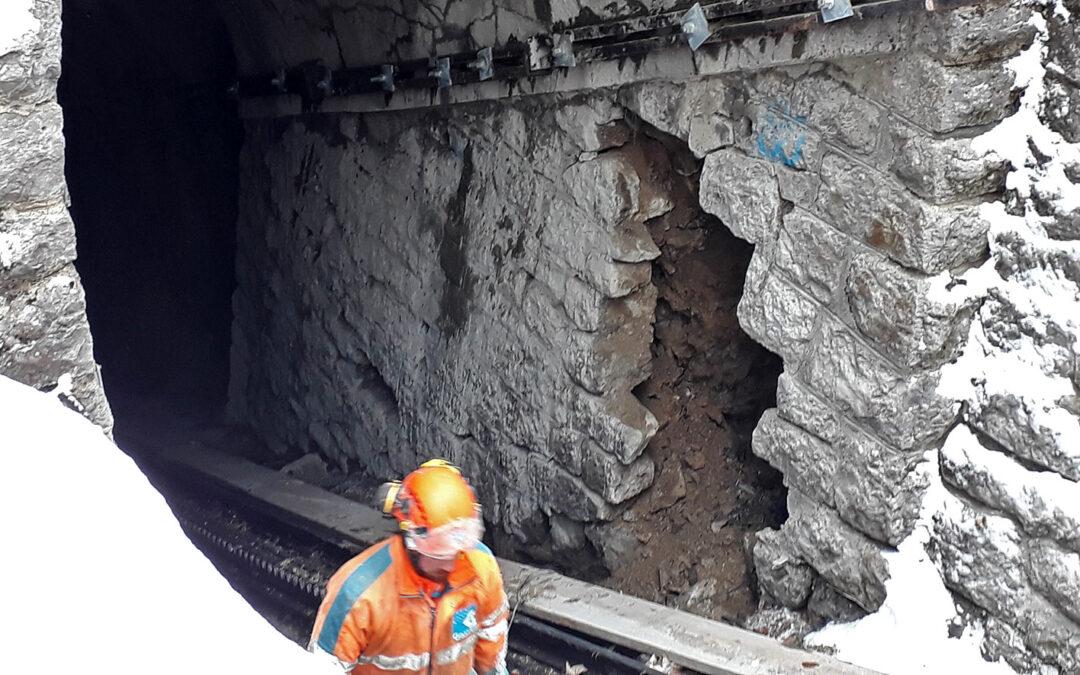 Tunnelsanierung für die Pilatusbahn
