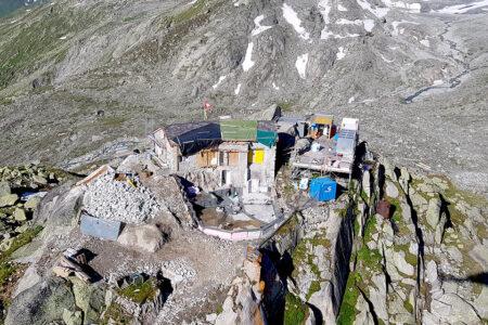 Infrastruktur im alpinen Raum: SAC Albert-Heim-Hütte