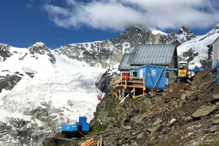 Infrastruktur im alpinen Raum: SAC Weisshornhütte