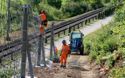 Bahnlinie nach Frankreich gesichert