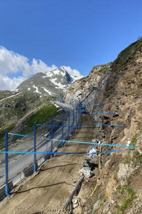 Felssicherung Ospizio Bernina (GR)