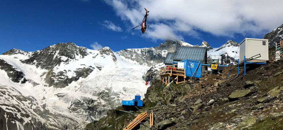 SAC-Hütte: Umbau auf 3'000 m ü. M.