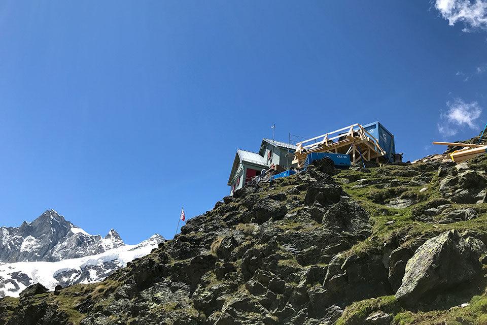 SAC Weisshornhütte, Randa (VS)
