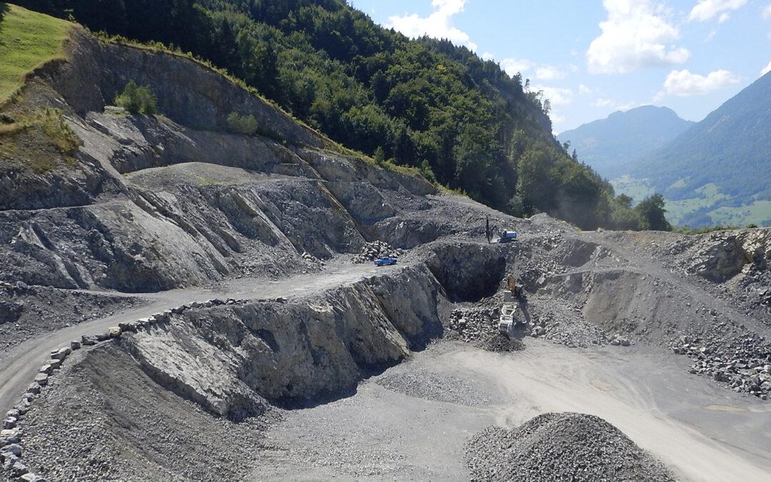 Steinbruchbewirtschaftung als Dienstleistung