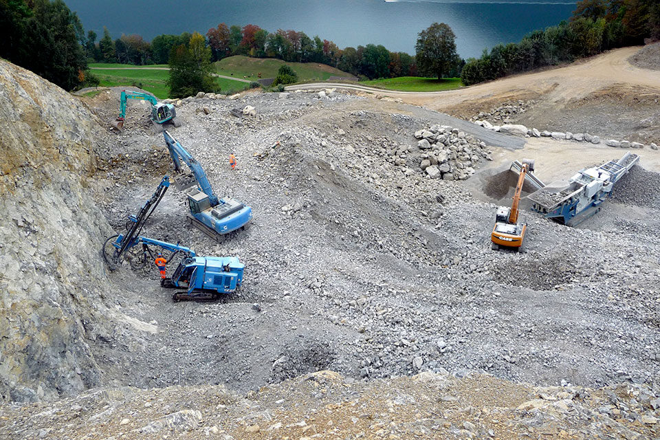 Steinbruch Rüti, Ennetmoos (NW)