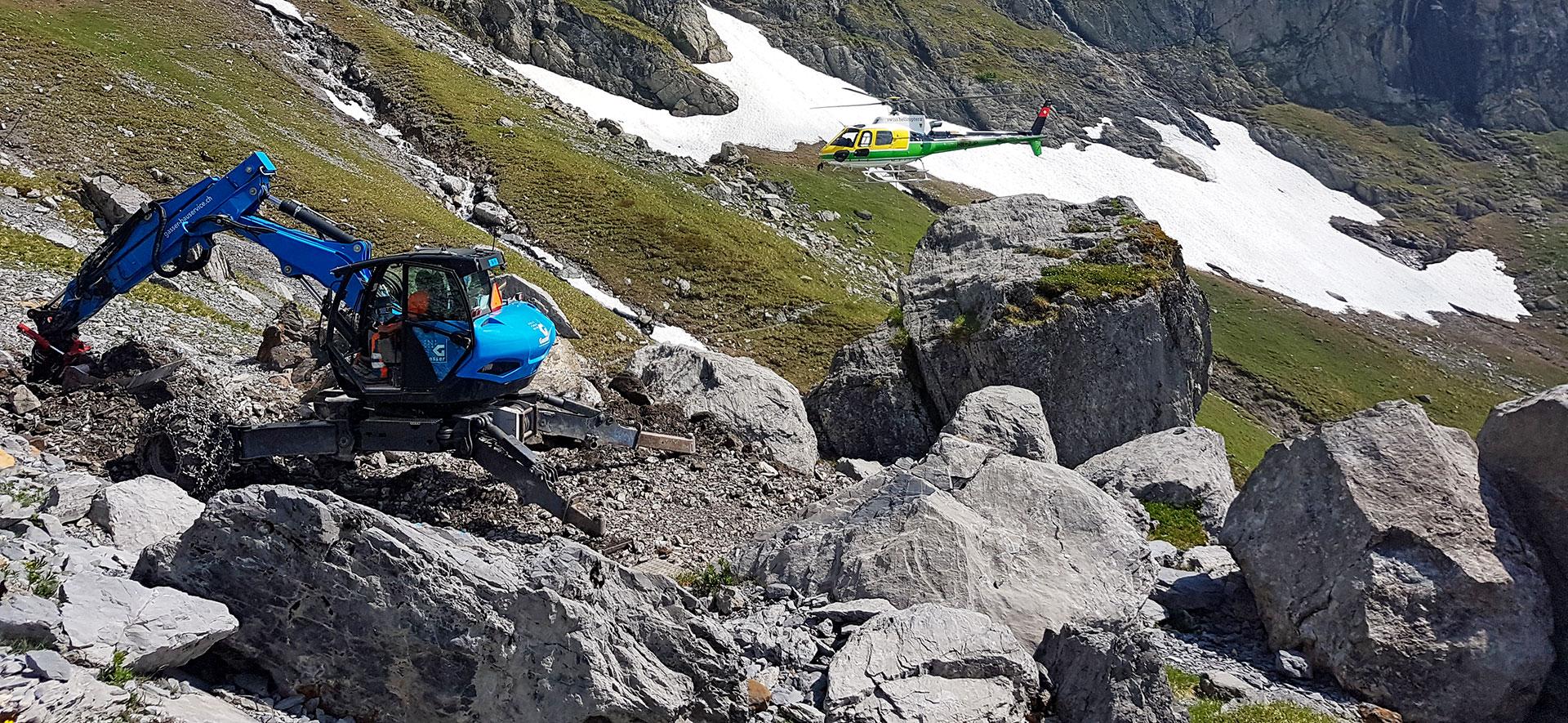 SAC-Hütten: Alpine Baustellen meistern
