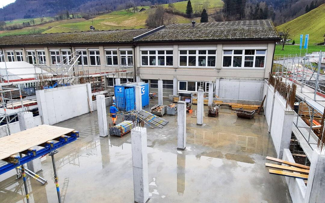Anbau an Produktions- und Lagergebäude