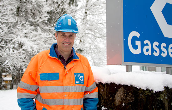 Matthias von Ah, CEO Gasser Felstechnik AG