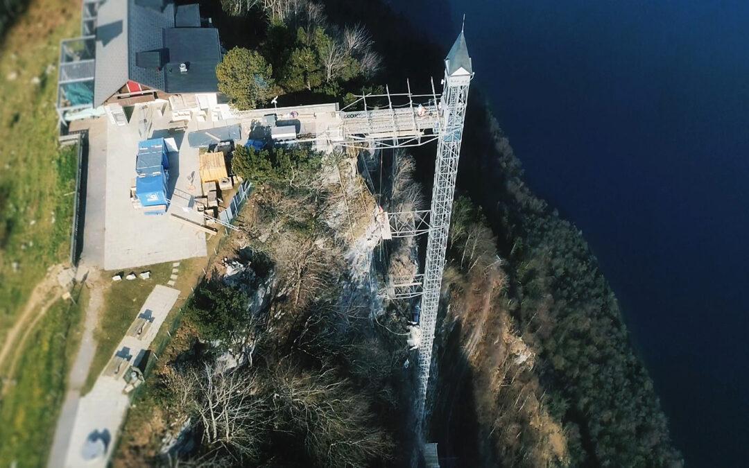 Neue Fundamente für den Hammetschwand-Lift