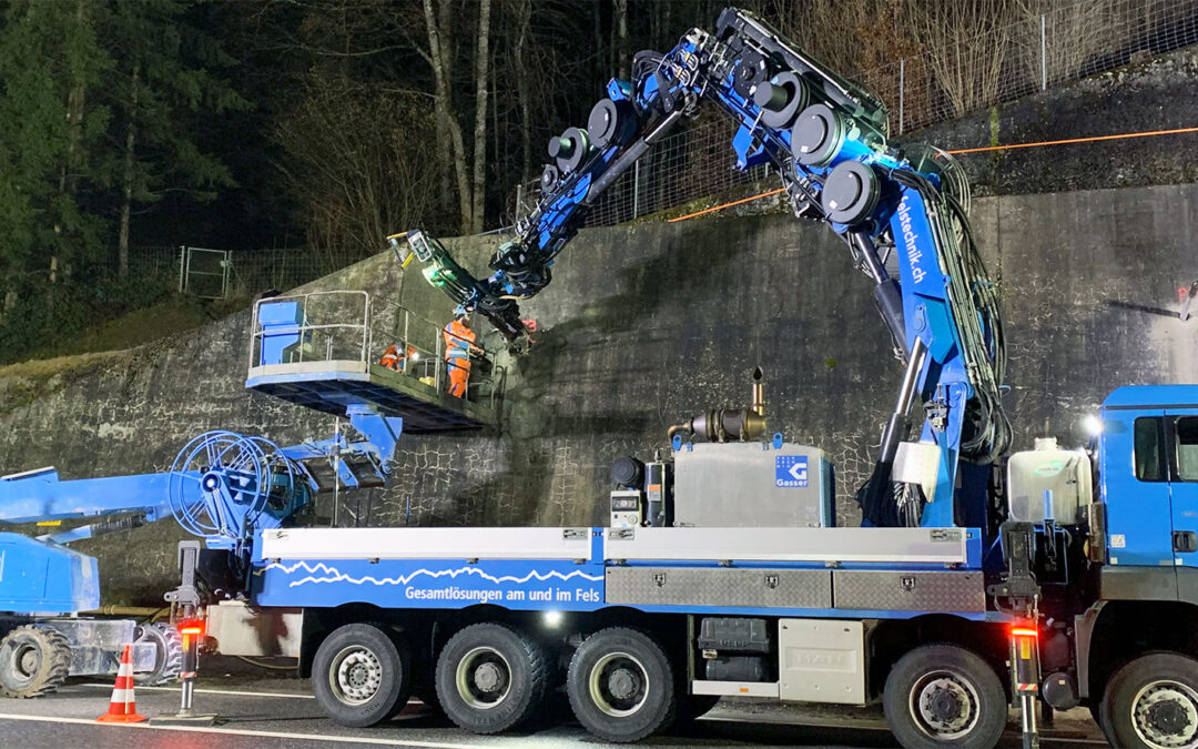 Ankerersatz an Stützbauwerk der N8